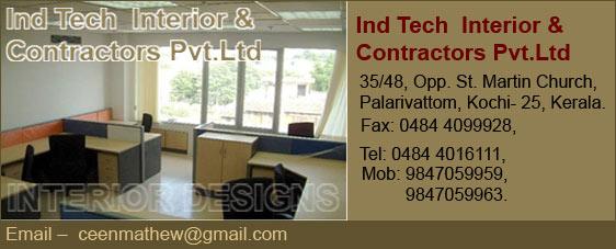 Ind Tech Interior Contractors PvtLtd Designing